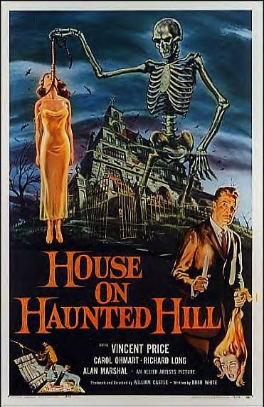 A nostalgic halloween vincent price house on haunted hill - House on the hill 2012 ...