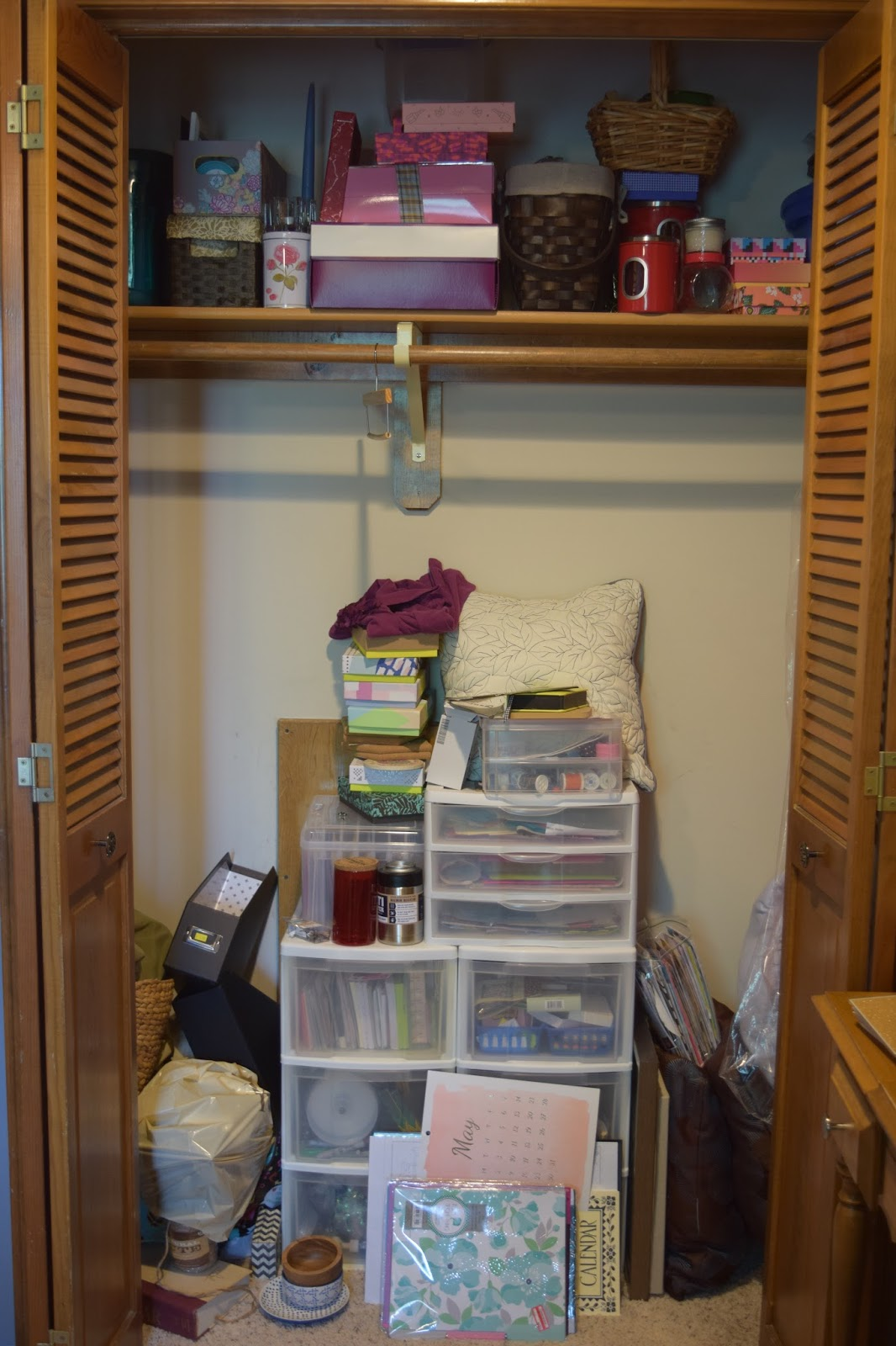 Hope Happiness Jazzy Storage Ideas For Craft Supplies
