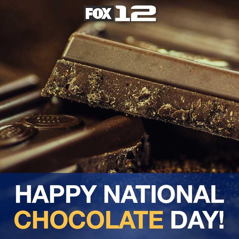 National Chocolate Day Wishes Unique Image