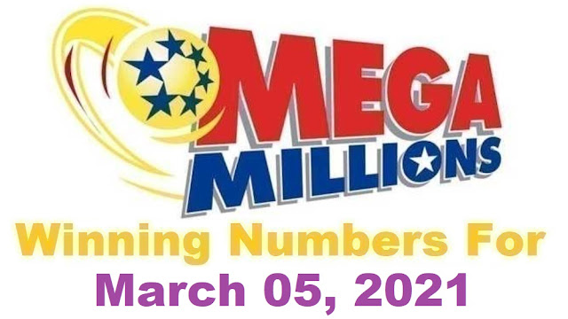 Mega Millions Winning Numbers for Friday, March 05, 2021