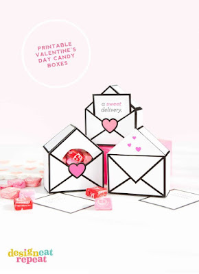 free printable valentines day candy boxes