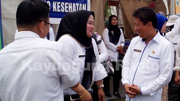 Dinkes OKI Buka Posko Kesehatan Di Area MTQ Ke XXVII Tingkat Kabupaten OKI