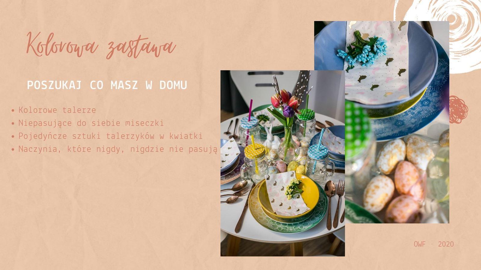 2 dekoracje wielkanocne diy jak udekorować stół wielkanocny bez wydawania pieniędzy kolorowe dodatki na wiosnę jak urządzić mieszkanie na wiosnę wiosenne dodatki do wnętrz tanie