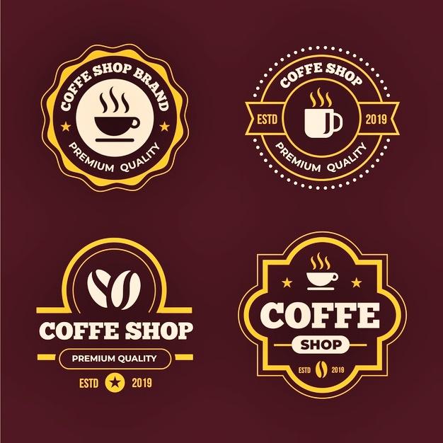 logo coffee shop keren