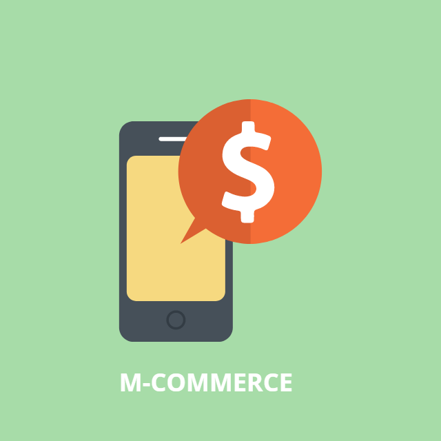How to Make Mobile Commerce Image in Vector