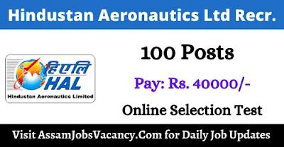 Hindustan Aeronautics Ltd Recruitment