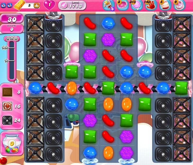 Candy Crush Saga 1713