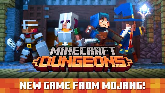 Microsoft anuncia Minecraft Dungeons (Switch) com lançamento para o outono de 2020