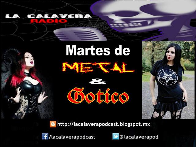 Martes de Metal y Gotico en La Calavera Radio