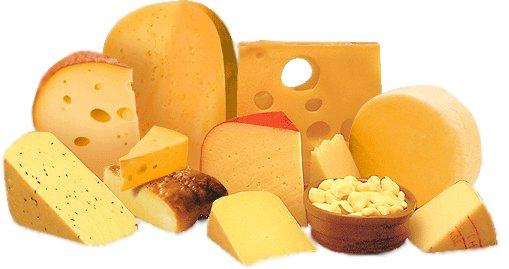 أنواع عديدة من الجبن