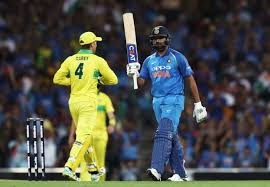 India vs Aus 2nd ODI cricket score