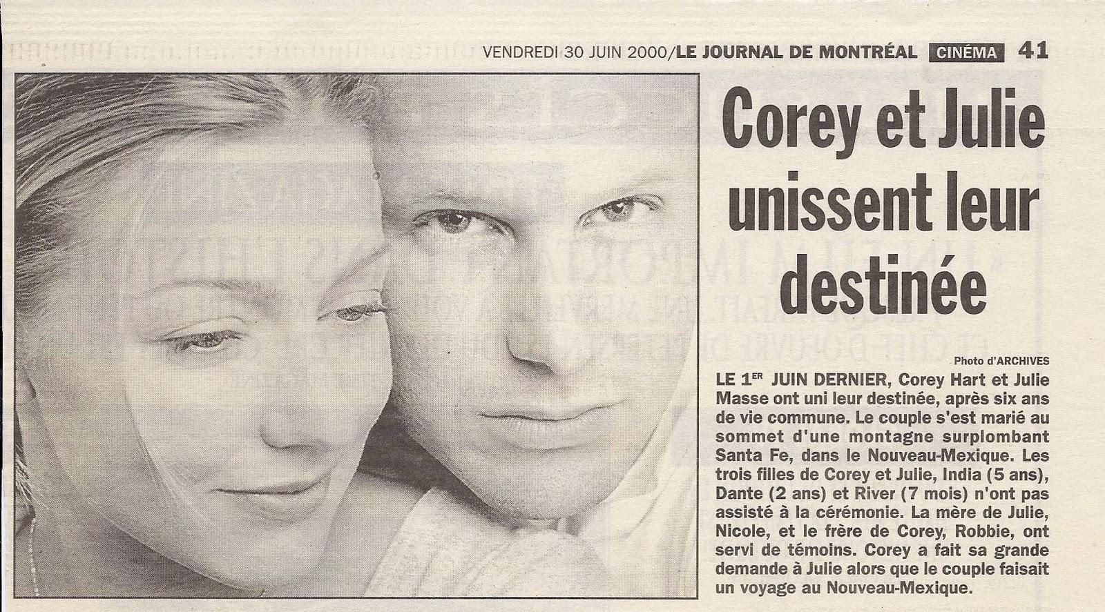 Lily The Mouse Of Heart: Le Journal de Montréal - 30 juin 2000