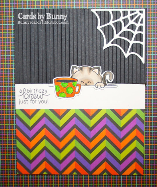 A birthday brew just for you by Bunny features Newton Loves Coffee by Newton's Nook Designs; #newtonsnook