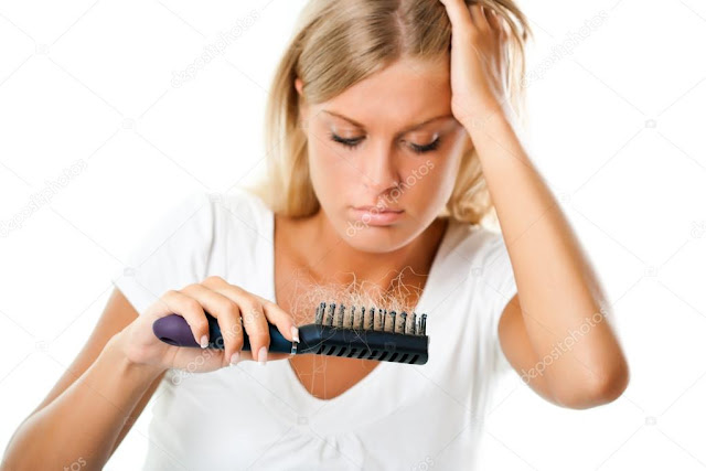 Hair Fall in hindi