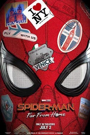Poster Of Spider-Man: Far from Home 2019 In Hindi Bluray 1080P HEVC Free Download