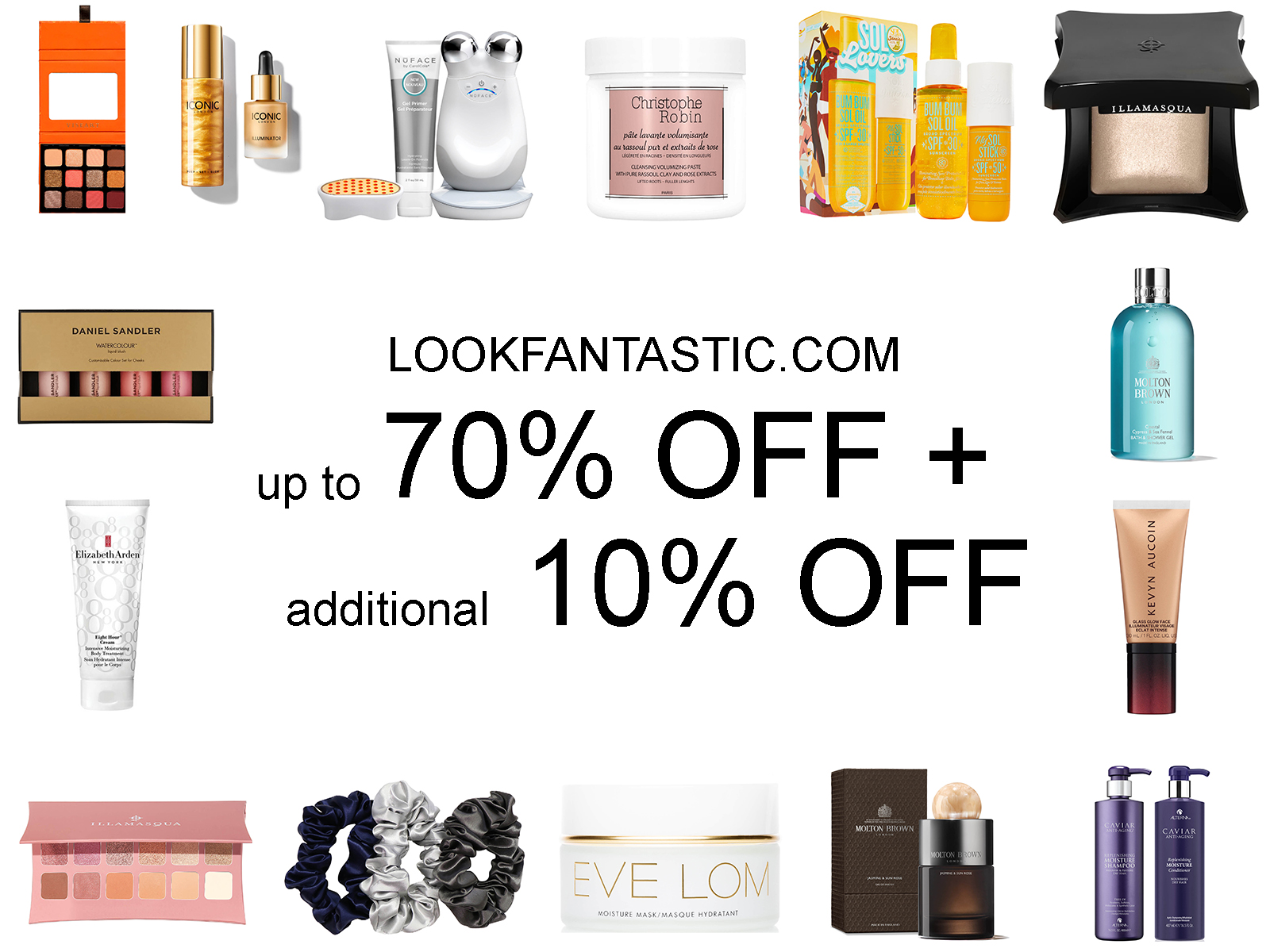 LOOKFANTASTIC President's Day Sale 2021