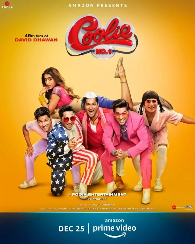 Coolie No 1 Full Movie Download In Full HD 720P By Filmyzilla And Filmywap Sites.