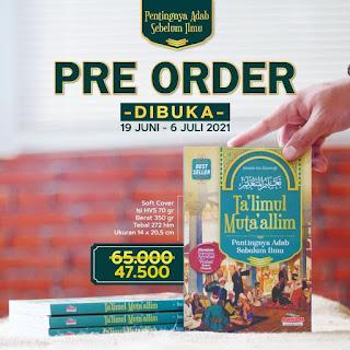 Pre Order  Buku Ta'limul Muta'allim