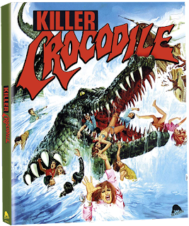 Severin Films' KILLER CROCODILE (Limited Editon) is our Pick of the Week!