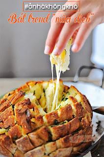Làm bánh mì phô mai bơ tỏi công thức giảm béo ít đường 1