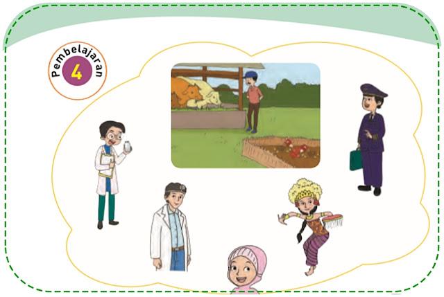 Kunci Jawaban Tema 6 Kelas 4 Halaman 35, 36, 38, 39, 41, 43, 44