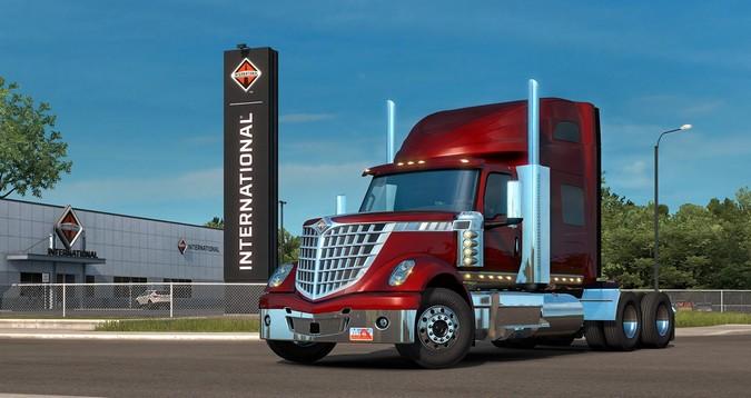 International LoneStar chega ao American Truck Simulator