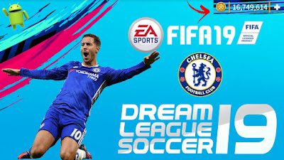 DLS19 Mod Chelsea FIFA Offline Android Download