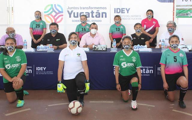 Itzáes presenta a su equipo femenil, para la Liga de Primera Fuerza Estatal