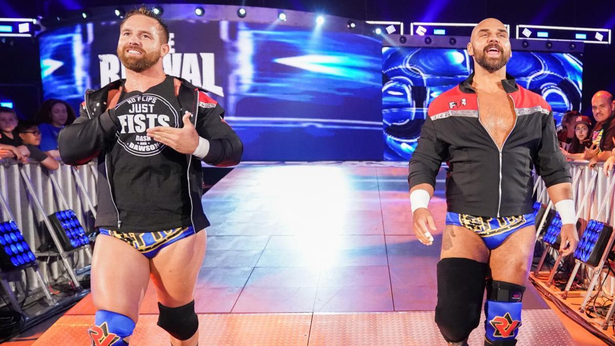 Dash Wilder revela a origem de seu nome na WWE