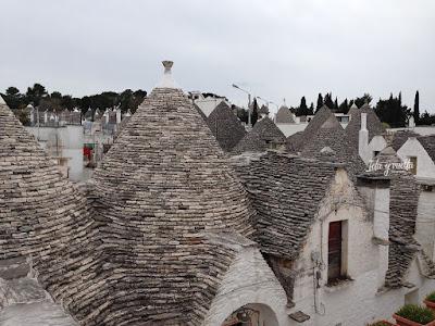 Alberobello grupo de trulli