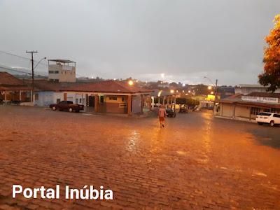 Semana será de calor com previsão de chuva em Inúbia