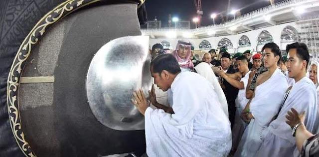 Jokowi Umroh di Masa Tenang, Fahri: Semoga Niatnya Ibadah