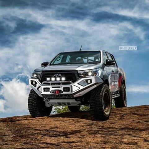 Toyota Hilux Modifikasi Offroad