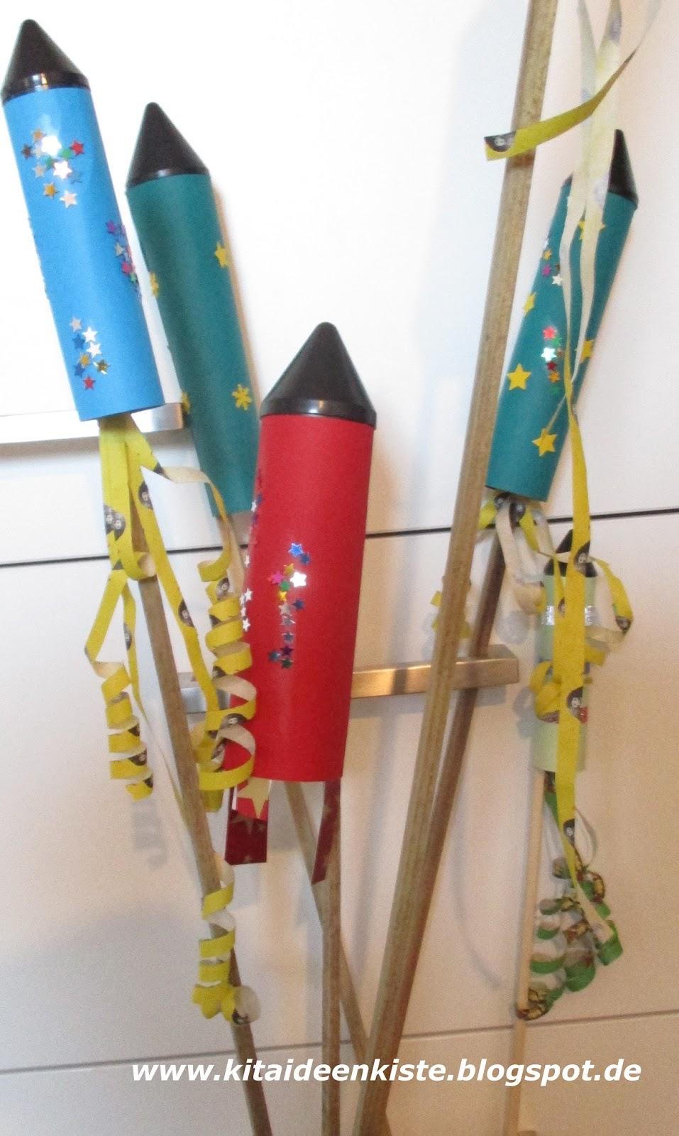 Kita Ideenkiste Nicht Nur Für Erzieherinnen Raketen Basteln
