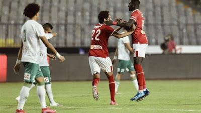 ملخص واهداف مباراة الاهلي وحرس الحدود (2-0) الدوري المصري