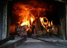 Chimney fire.