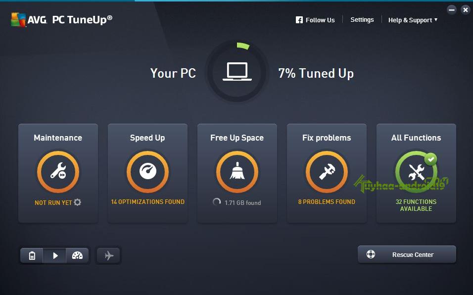 AVG PC TuneUp 64 Bit Free Download