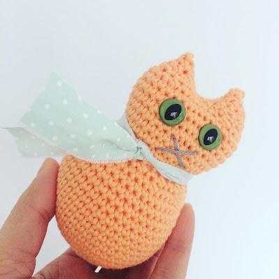Crochet Cat Pattern from Annemarie's Haakblog