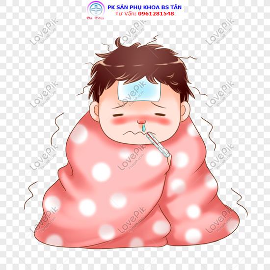bé bị sốt không rõ nguyên nhân