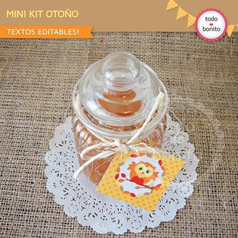 PUNTXET Imprimible gratis para fiestas infantiles de otoño #niños #imprimibles #fiestas