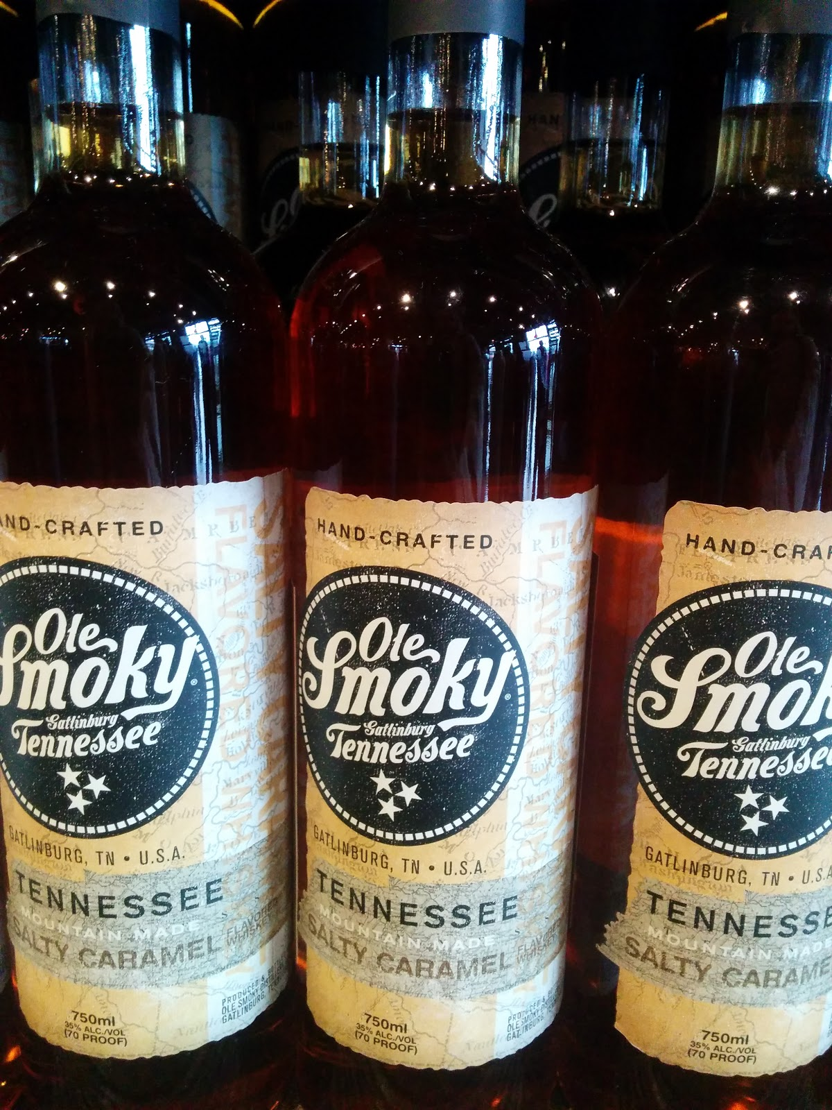 ole smoky salty caramel whiskey