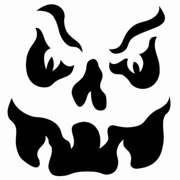 evil face pumpkin template - kisflanc lakberendez s dekor ci diy receptek kert