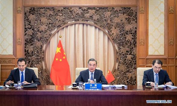 Vương Nghị kêu gọi ASEAN hợp tác chống can thiệp từ bên ngoài ở Biển Đông