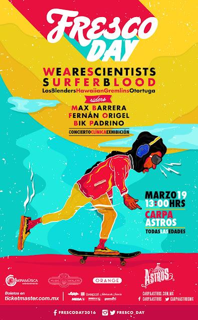 Skate y Música en FRESCO DAY en Carpa Astros
