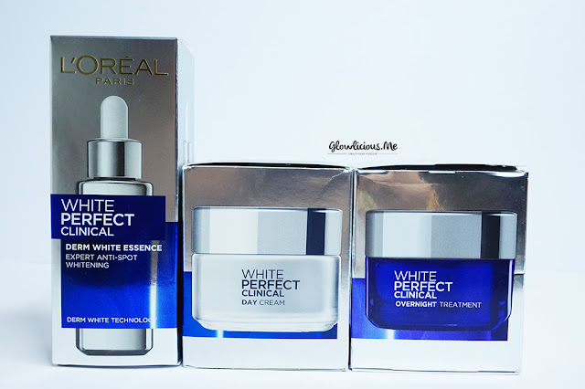 Packaging L'Oreal Paris White Perfect Clinical Series