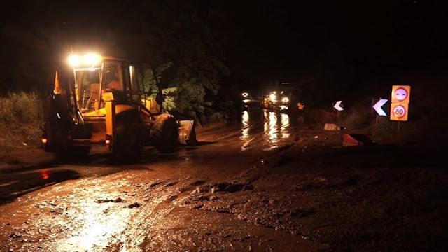 Ηπειρος:Καταπτώσεις Σε Ζαγόρι Κόνιτσα Τζουμέρκα Απο Τις Συνεχείς Βροχοπτώσεις