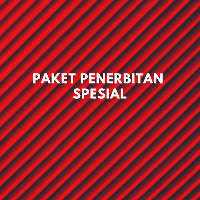 Paket Penerbitan Spesial (Rp 750.000,00)