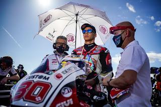 Takaaki Nakagami, pembalap Asia satu-satunya yang berlaga di MotoGP
