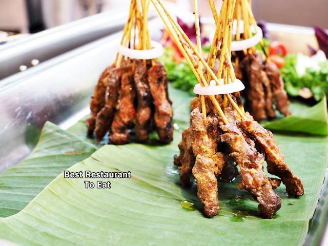 Satay Ayam Daging - Ramadhan Buffet 2018 Bangi Golf Resort BGR Selangor