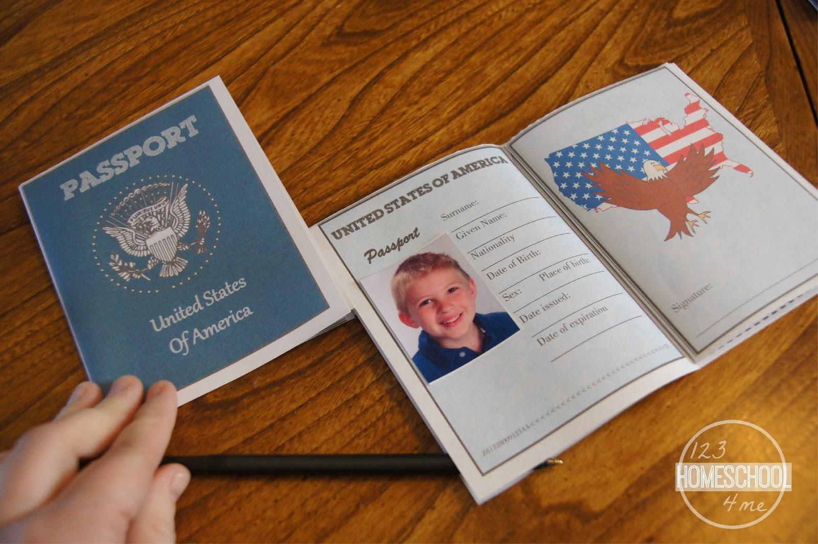 Passports For Kids